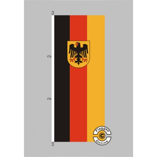 deutschland bundesdienstflagge fahne hochformat flagge staaten international flaggen. Black Bedroom Furniture Sets. Home Design Ideas