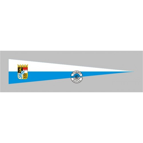Bayern mit Wappen Aufkleber | Flaggen-Online.de