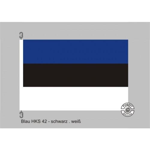 Weiß Rot Blaue Flagge: Blau-Schwarz-Weiß Streifenflagge Flaggen Fan