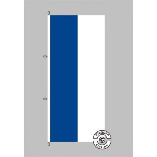 Flagge Blau Rot: Kirchenfahne Blau Weiß Hochformat Fahne Hochformat Flagge