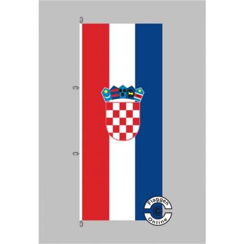 kroatien fahne hochformat flagge staaten international. Black Bedroom Furniture Sets. Home Design Ideas