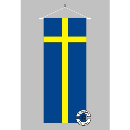 schweden banner flagge bannerfahnen deutsche bundesl nder flaggen. Black Bedroom Furniture Sets. Home Design Ideas