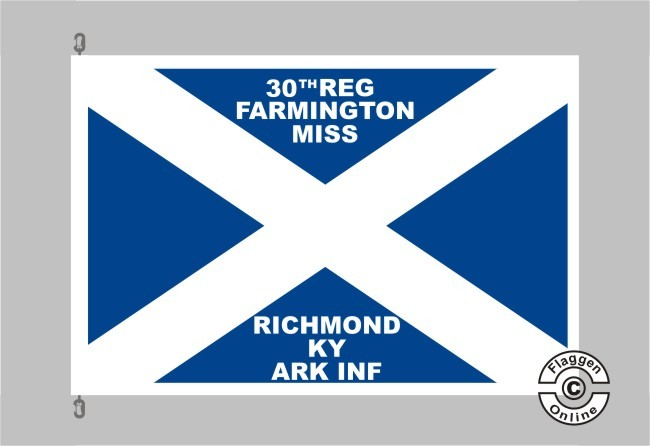 30th Arkansas Infantry 1862 – 1863 Flagge