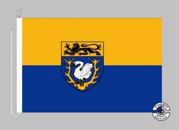 Aachen Landkreis Bootsflagge