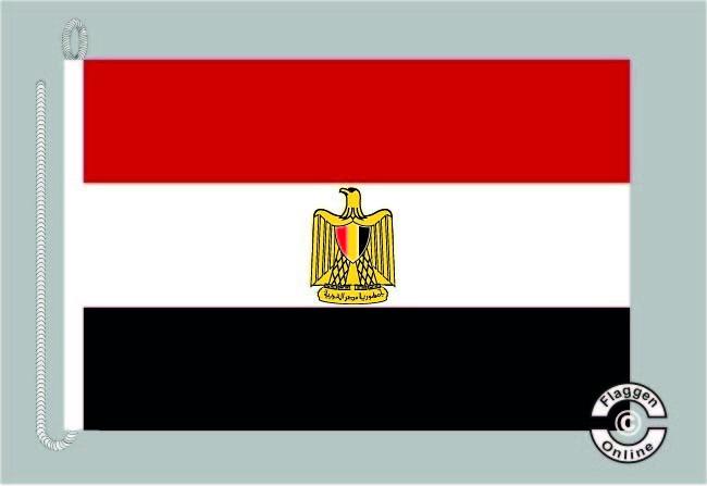 Aegypten / Ägypten Bootsflagge