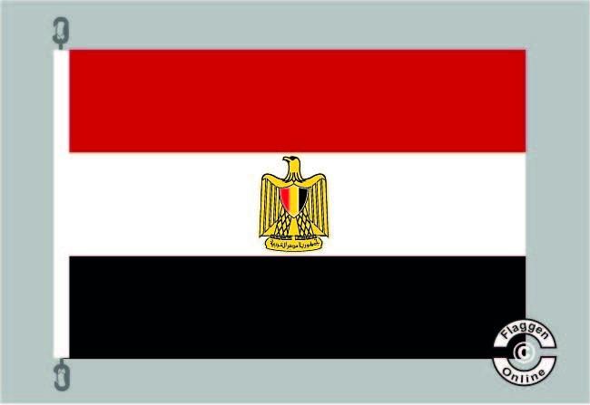 Aegypten / Ägypten Flagge