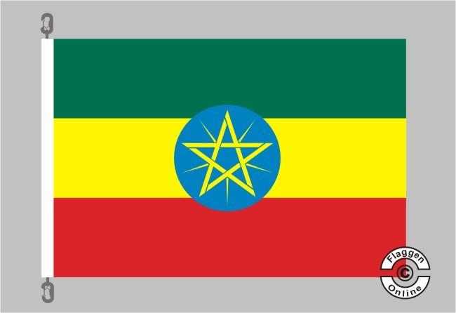 Aethiopien / Äthiopien Flagge