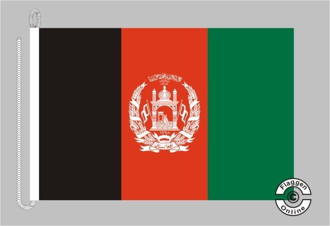 Afghanistan Bootsflagge