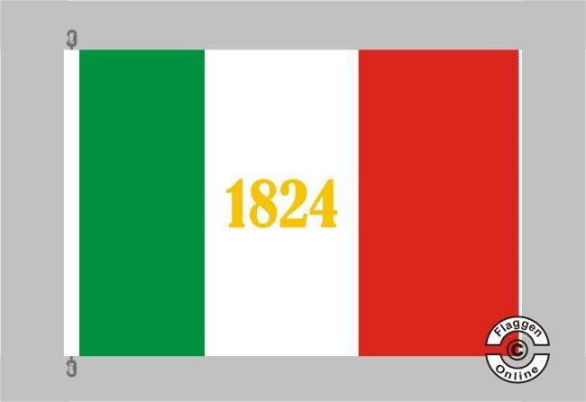 Alamo 1824 Flagge