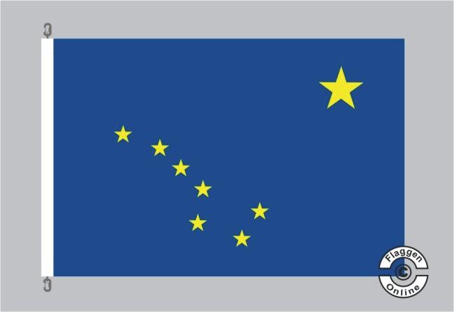 Alaska Flagge Fahne