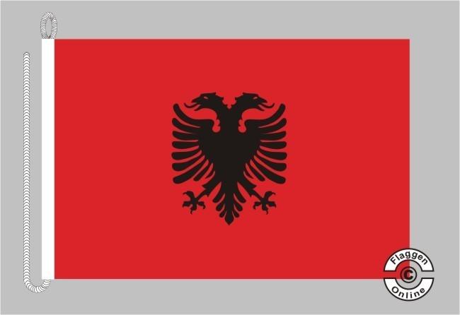 Albanien Bootsflagge