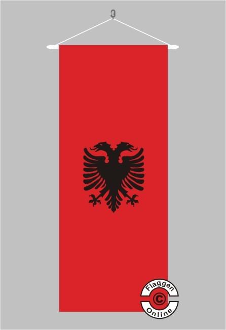 Albanien Banner Flagge
