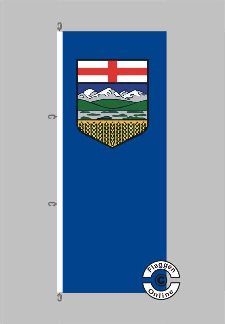 Alberta Flagge Hochformat