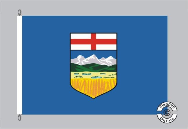 Alberta Flagge Fahne