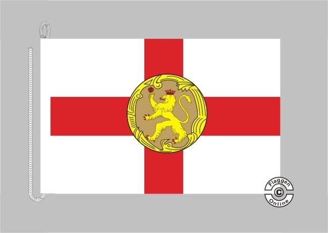 Alderney Bootsflagge