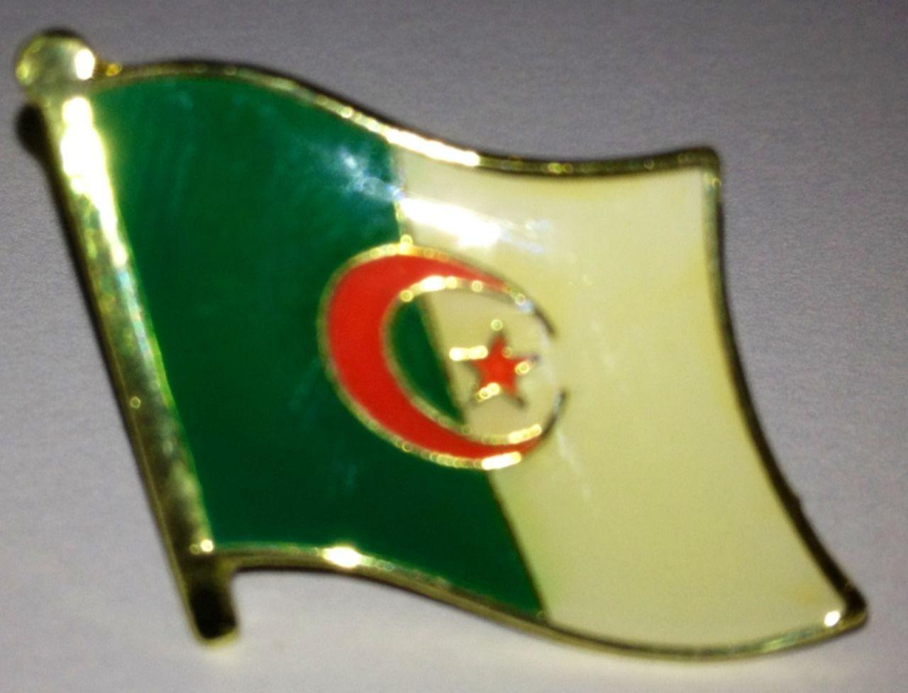 Algerien Flaggenpin