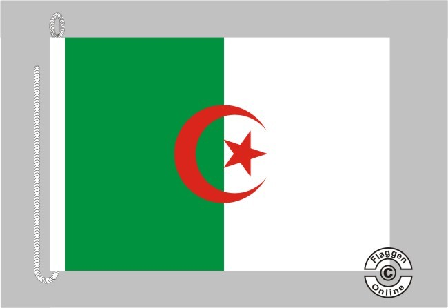 Algerien Bootsflagge