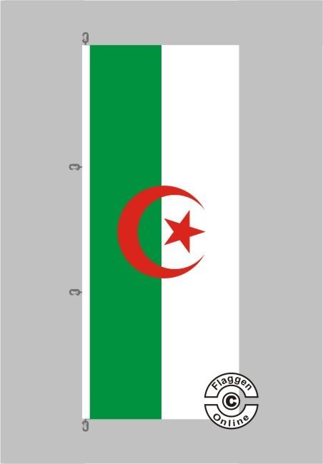 Algerien Hochformat Flagge