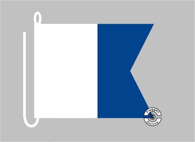 Alfa ca 70 x 84 cm Signalflagge A