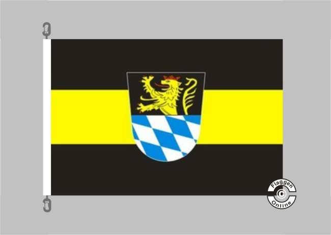 Amberg Flagge / Fahne für extreme Windlasten