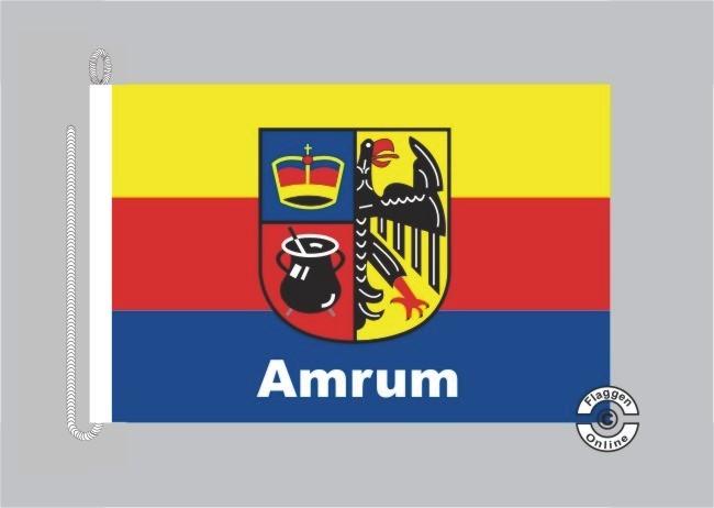 Amrum Bootsflagge