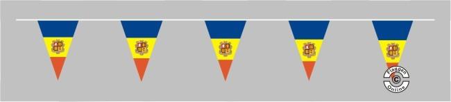 Andorra Wimpelkette