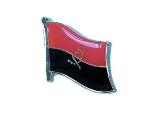 Angola Flaggenpin