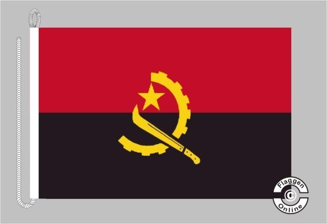 Angola Bootsflagge