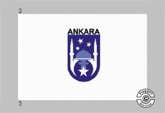 Ankara Flagge / Fahne für extreme Windlasten
