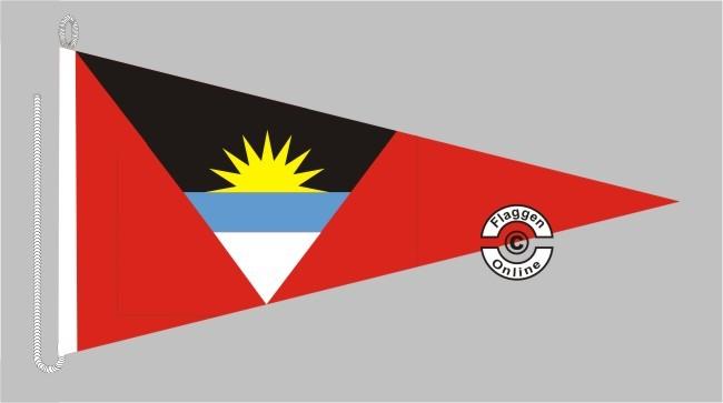 Antigua und Barbuda Bootsstander Wimpel