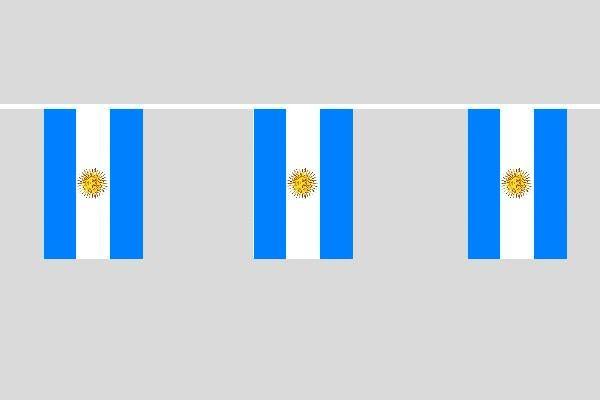Argentinien Flaggenkette