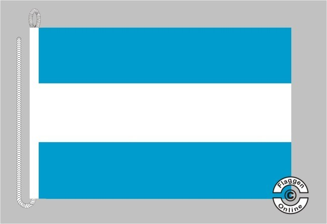 Argentinien ohne Wappen Bootsflagge