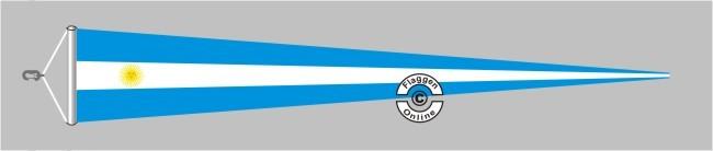 Argentinien Langwimpel mit Querholz