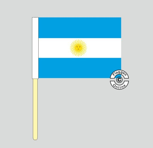 Argentinien Stockflagge