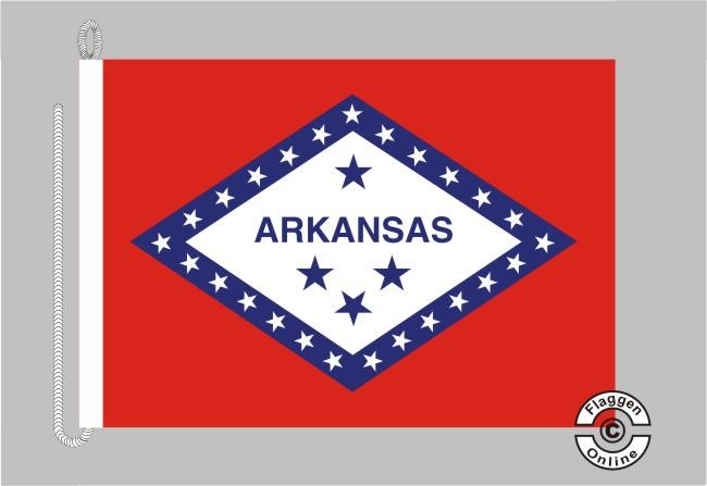 Arkansas Bootsflagge