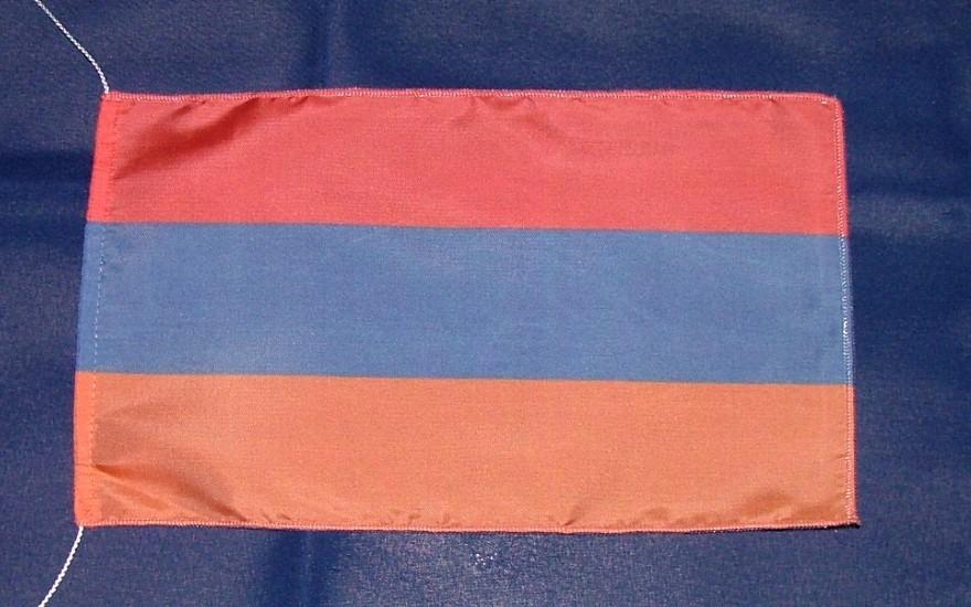 Armenien Tischflagge