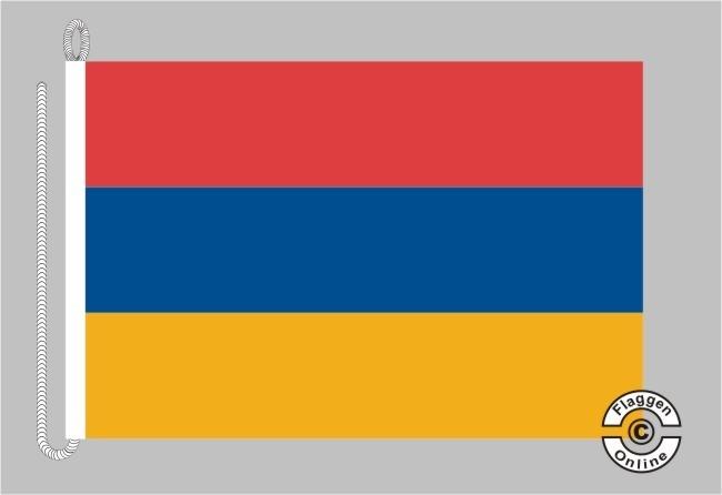 Armenien Bootsflagge