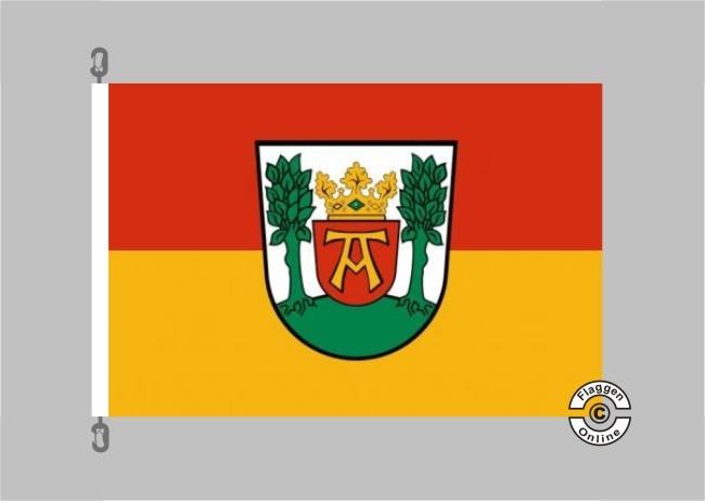 Aurich Flagge / Fahne für extreme Windlasten