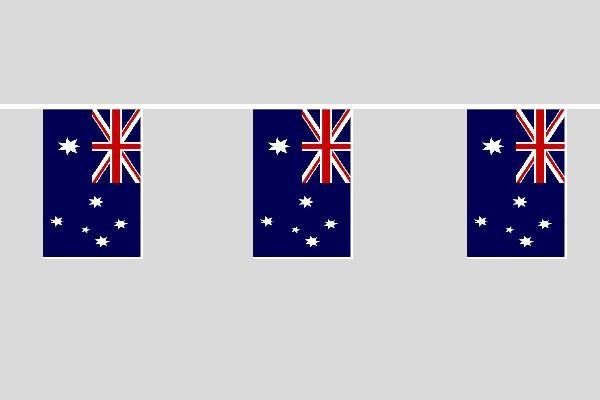 Australien Flaggenkette