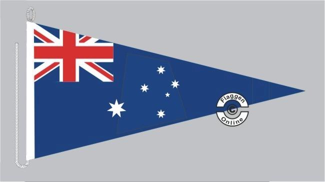 Australien Bootsstander Wimpel