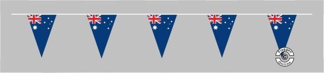Australien Wimpelkette