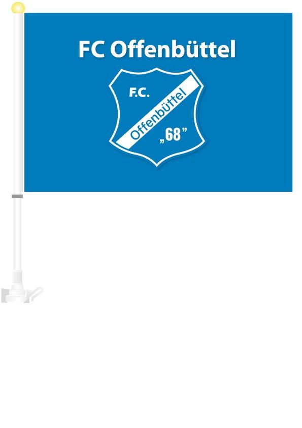 FC Offenbüttel  Autoflagge