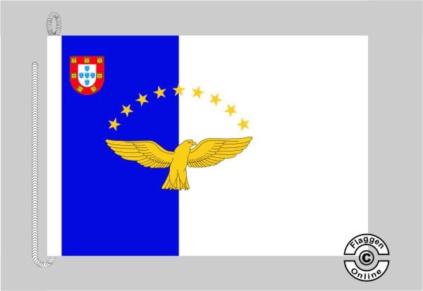 Azoren Bootsflagge