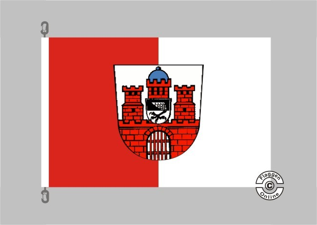 Bad Kissingen Flagge / Fahne für extreme Windlasten