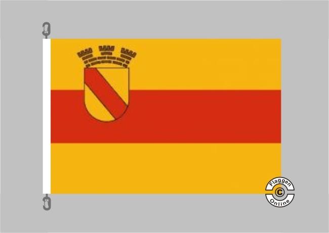Baden-Baden Flagge / Fahne für extreme Windlasten