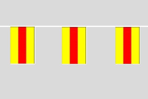 Baden Flaggenkette