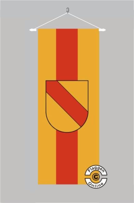 Baden mit Schildwappen Banner Flagge