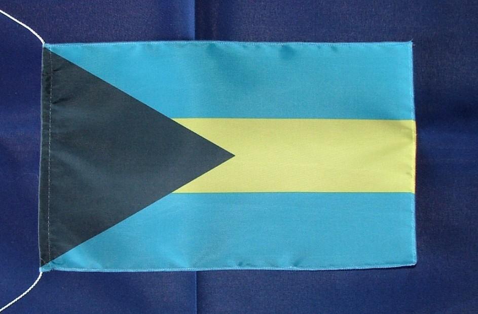 Bahamas Tischflagge