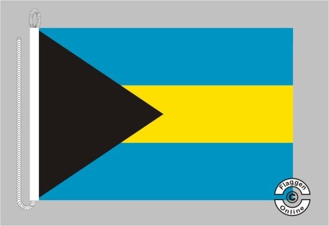 Bahamas Bootsflagge