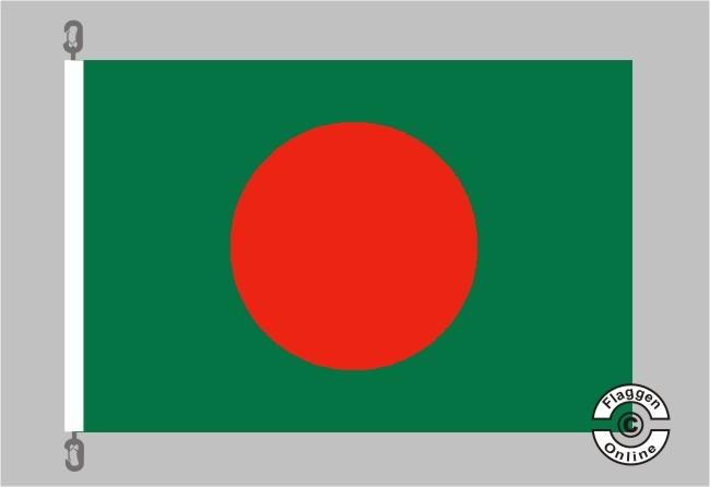 Bangladesch Flagge